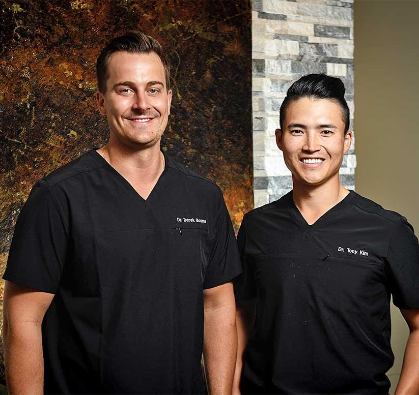 Dr. Derek Bouma & Dr. Tony Kim | NE Calgary Dentists | Pathways Dental Clinic | Calgary Dentist , NE Calgary Dentist , Dentist in Calgary , Affordable Dentist Calgary