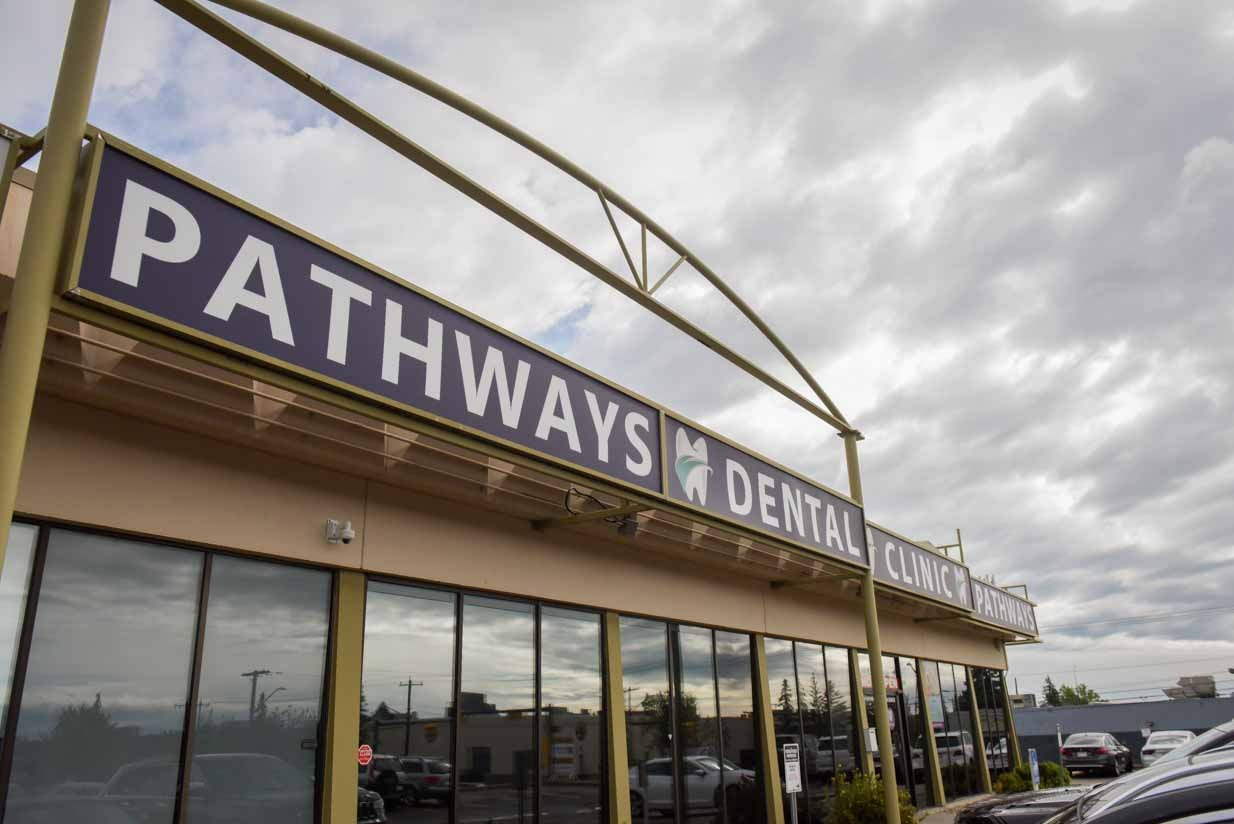 Exterior Entrance Pathways Dental Clinic | NE Calgary Dentists | Pathways Dental Clinic