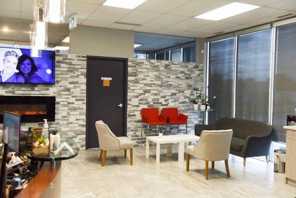 Main Reception | NE Calgary Dentists | Pathways Dental Clinic