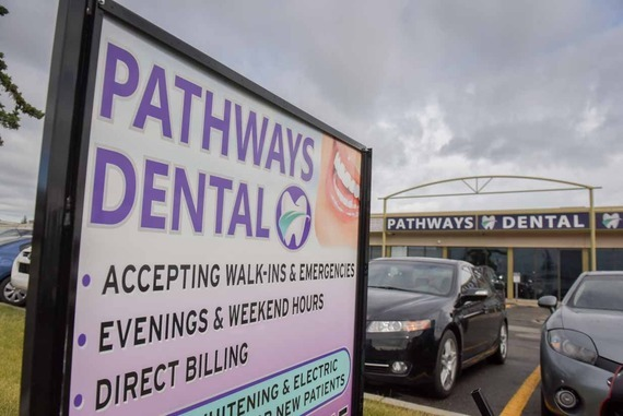 Calgary Dentist , NE Calgary Dentist, Dentist in Calgary, Affordable Dentist Calgary | Pathways Dental Sign