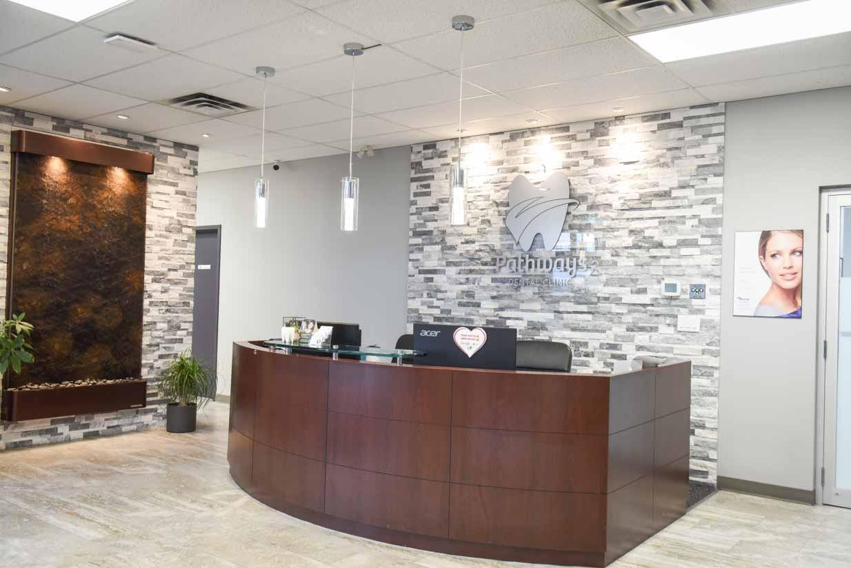 Reception | NE Calgary Dentists | Pathways Dental Clinic