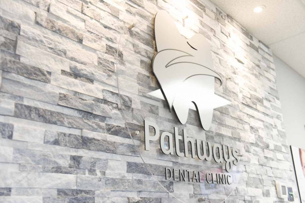 Pathways Dental Sign | NE Calgary Dentists | Pathways Dental Clinic