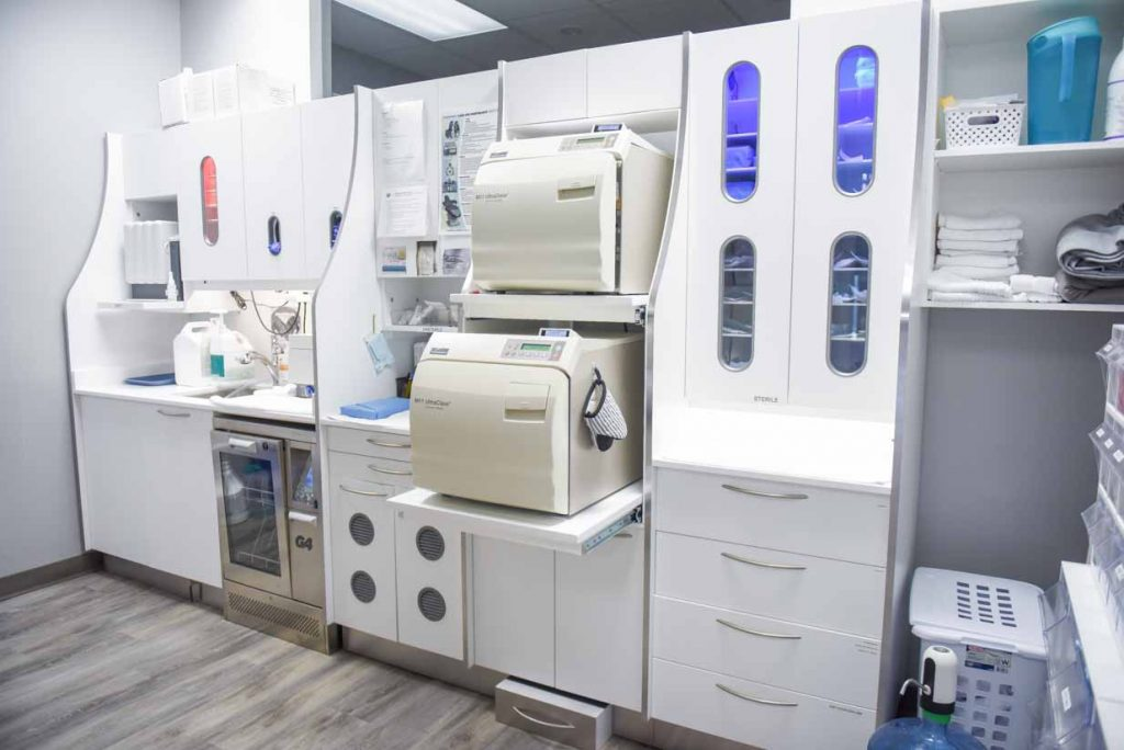 Sterilization Area | NE Calgary Dentists | Pathways Dental Clinic